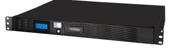 CyberPower Professional Rack Mount LCD Series PR1000ELCDRT1U - USV (Rack - einbaufähig) - Wechselstrom 230 V - 670 Watt - 1000 VA 9 Ah