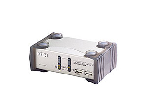 ATEN MasterView CS1732B KVMP Switch - KVM-/Audio-/USB-Switch - 2 x KVM/Audio/USB - 1 lokaler Benutzer - Desktop