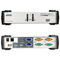 ATEN MasterView CS-1742 - KVM-/Audio-/USB-Switch - USB - 2 x KVM/Audio/USB - Desktop