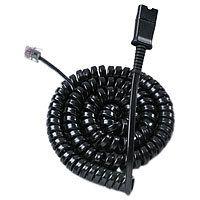 Plantronics U10P-S19 - Headset-Kabel - RJ-45 (M) bis Quick Disconnect (W) - 4 m - für DuoPro; EncorePro; TriStar
