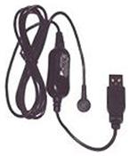 Plantronics - USB-Ladekabel - USB (M) - Schwarz - für Voyager 510, 510 + HL10 Lifter, 510 + HL10 Lifter + Travel Pack