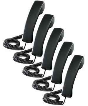 Polycom - Ersatzhörer (Packung von 5 ) - für SoundPoint IP 550, IP 650