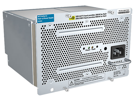HPE - Stromversorgung - 1500 Watt - Europa - für Aruba 54XX; HP Switch 5406zl-48, Switch 5412zl-96; HPE 82XX, Switch 82XX