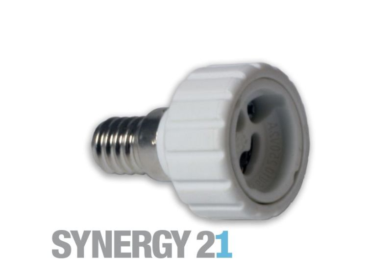 Synergy 21 LED Adapter für LED-Leuchtmittel E14->GU10 S21-LED-000249