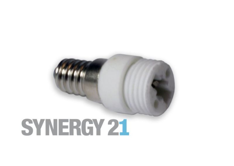 Synergy 21 LED Adapter für LED-Leuchtmittel E14->G9 S21-LED-000250