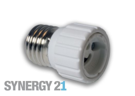 Synergy 21 LED Adapter für LED-Leuchtmittel E27->GU10 S21-LED-000253