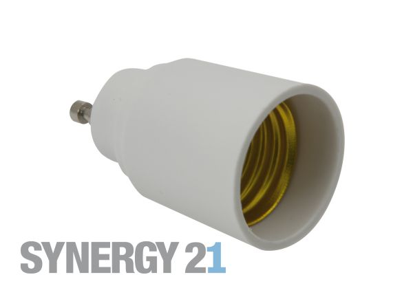 Synergy 21 LED Adapter für LED-Leuchtmittel GU10->E27 S21-LED-000350
