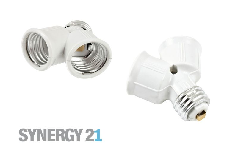 Synergy 21 LED Adapter für LED-Leuchtmittel E27->2*E27 S21-LED-000355