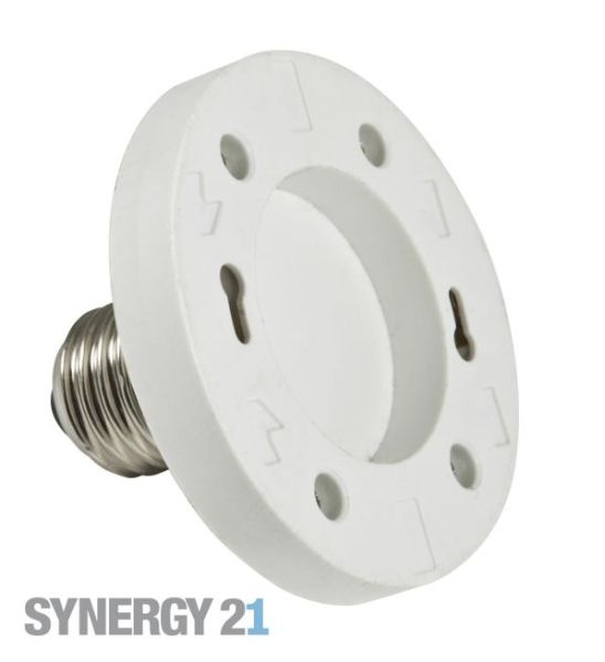 Synergy 21 LED Adapter für LED-Leuchtmittel E27->GX53 S21-LED-000396