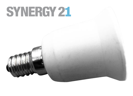 Synergy 21 LED Adapter für LED-Leuchtmittel E14->E27 S21-LED-000400