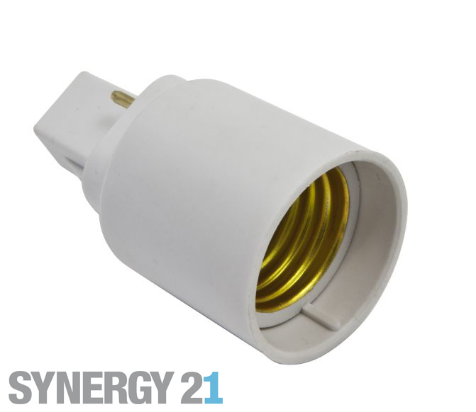 Synergy 21 LED Adapter für LED-Leuchtmittel G24->E27 S21-LED-000481