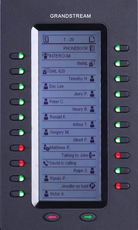 Grandstream GXP2200EXT Expansion Module - Funktionstasten-Erweiterungsmodul